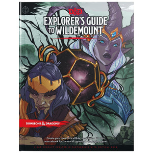 Explorers Guide to Wildemount - Dungeons and Dragons-Yarrawonga Fun and Games