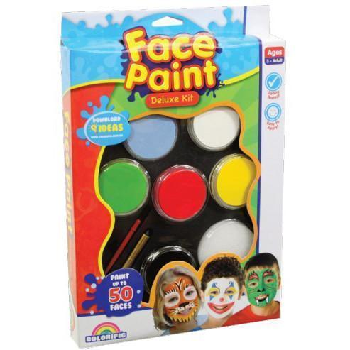 Face Paint - Deluxe Kit-Deluxe Kit-Yarrawonga Fun and Games