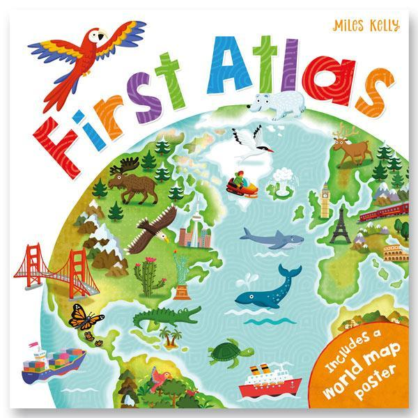 First Atlas Book-Yarrawonga Fun and Games