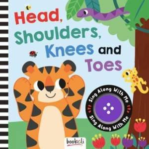 Head, Shoulders, Knees and Toes - Musical Book-Yarrawonga Fun and Games
