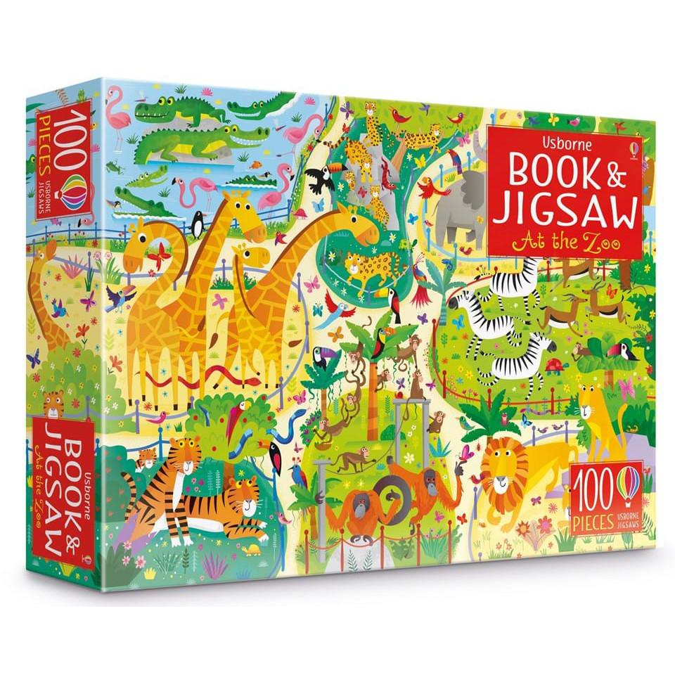 Jigsaw 100 pieces – At the Zoo-Yarrawonga Fun and Games