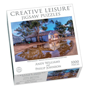 Jigsaw 1000pc - Drought and Flooding Rains-Yarrawonga Fun and Games