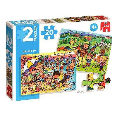 Jigsaw - 2 in1 – Beach and Excursion-Yarrawonga Fun and Games