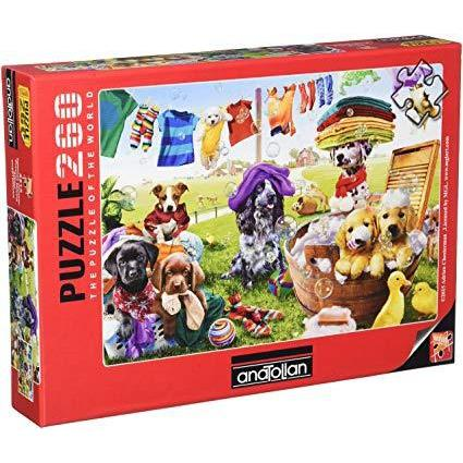 Jigsaw 260 pieces – Puppies Playing-Yarrawonga Fun and Games