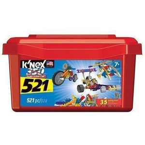 K'Nex 521 Piece Tub-Yarrawonga Fun and Games