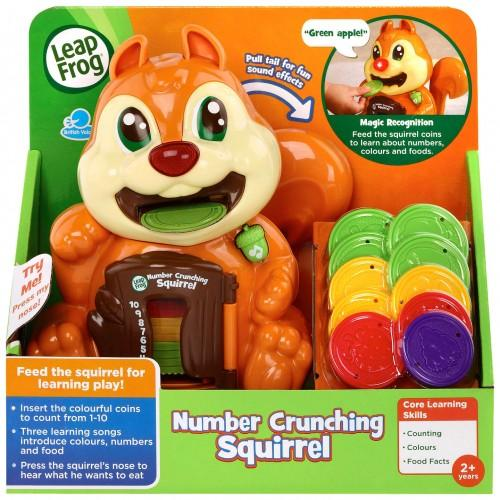 Leapfrog Number Crunching Squirrel-Yarrawonga Fun and Games