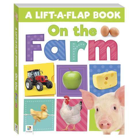 Lift a Flap book - On the Farm-Yarrawonga Fun and Games