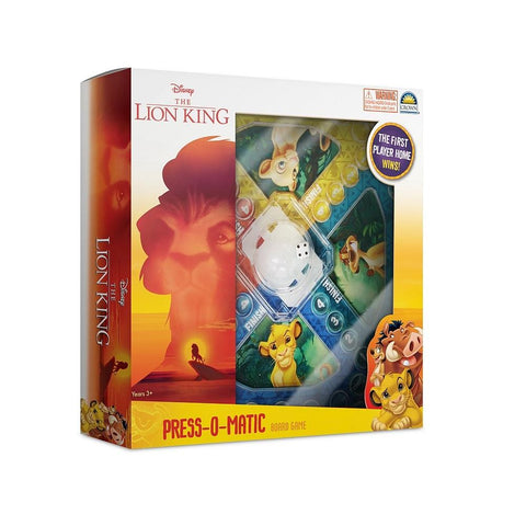 Loin King Press-O-Matic Game-Yarrawonga Fun and Games