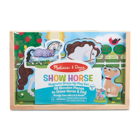 Magnetic Show Horse Play Set