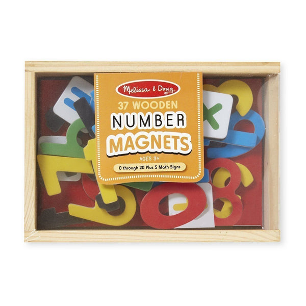 Magnetic Wooden Numbers-Yarrawonga Fun and Games