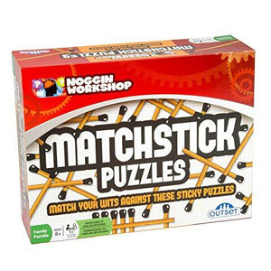 Matchstick Puzzles-Yarrawonga Fun and Games