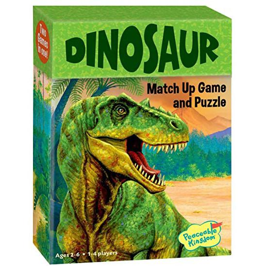 Matchup Games and Puzzle - Various Designs-Dinosaur-Yarrawonga Fun and Games