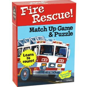Matchup Games and Puzzle - Various Designs-Fire Resuce-Yarrawonga Fun and Games