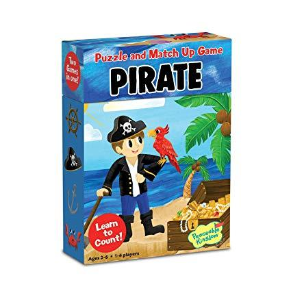 Matchup Games and Puzzle - Various Designs-Pirates-Yarrawonga Fun and Games