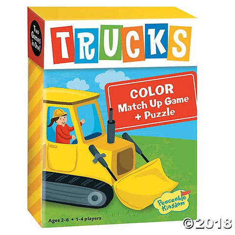 Matchup Games and Puzzle - Various Designs-Trucks-Yarrawonga Fun and Games
