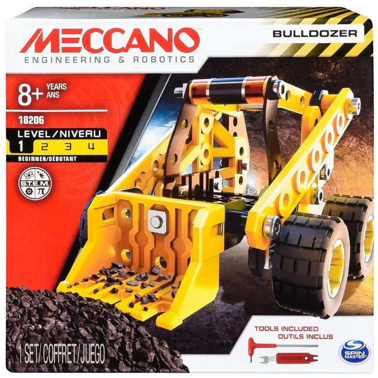 Meccano Bulldozer-Yarrawonga Fun and Games