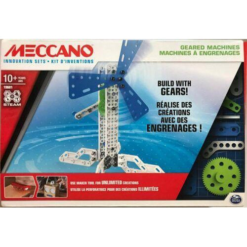 Meccano Geared Machines-Yarrawonga Fun and Games