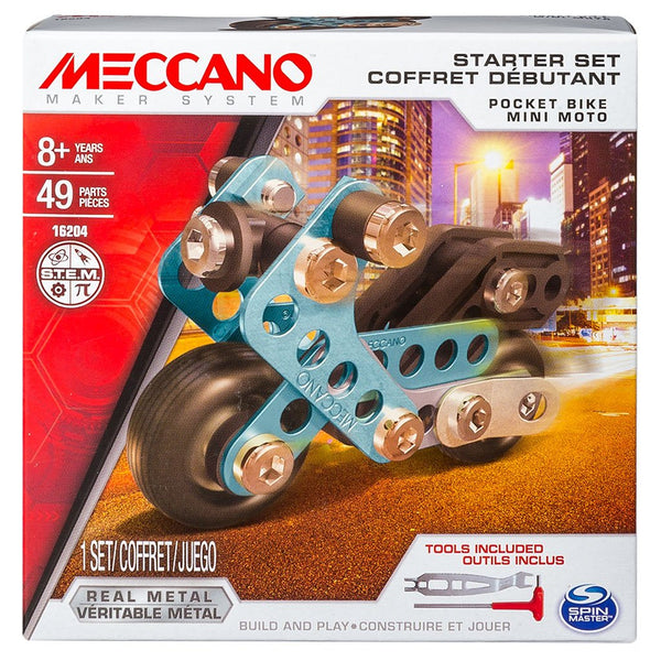 Meccano Starter Sets - Various-Motorbike-Yarrawonga Fun and Games