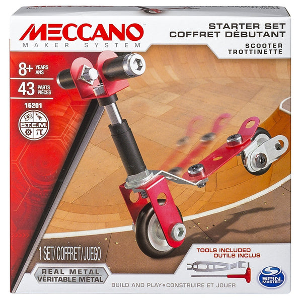 Meccano Starter Sets - Various-Scooter-Yarrawonga Fun and Games