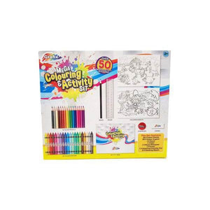 Mega Colouring and Activity Set-Yarrawonga Fun and Games.