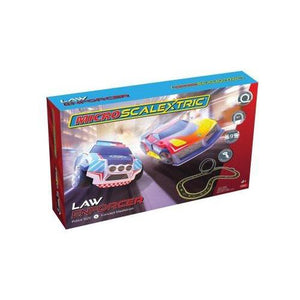 Micro Scalextric - Law Enforcer Set-Yarrawonga Fun and Games