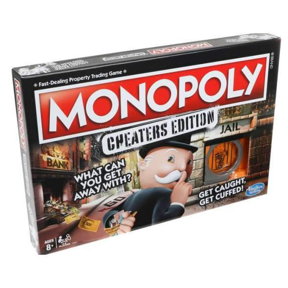 Monopoly - Cheaters Edition - Game-Yarrawonga Fun and Games