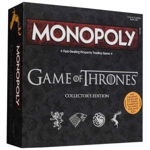Monopoly - Game of Thrones - Game-Yarrawonga Fun and Games