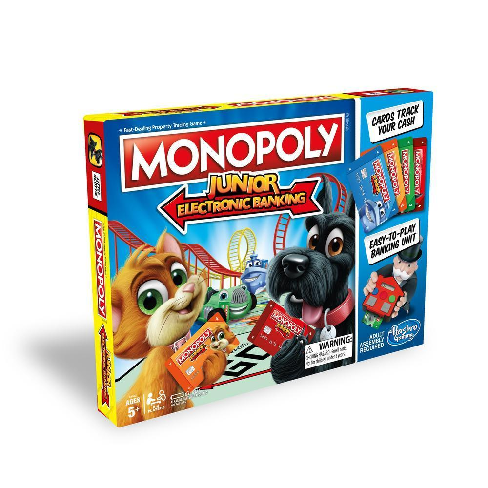 Monopoly Junior Electronic-Yarrawonga Fun and Games