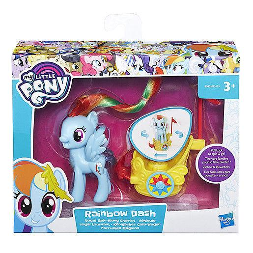 My Little Pony Royal Spin Chariots - Various-Rainbow Dash-Yarrawonga Fun and Games