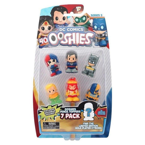Ooshies - DC Comics - Series 2 - 7 Pack-Yarrawonga Fun and Games