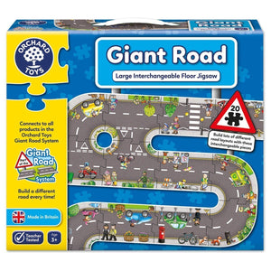 Orchard Toys - Giant Road Puzzle-Yarrawonga Fun and Games