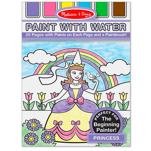 Paint with Water - Princess-Yarrawonga Fun and Games