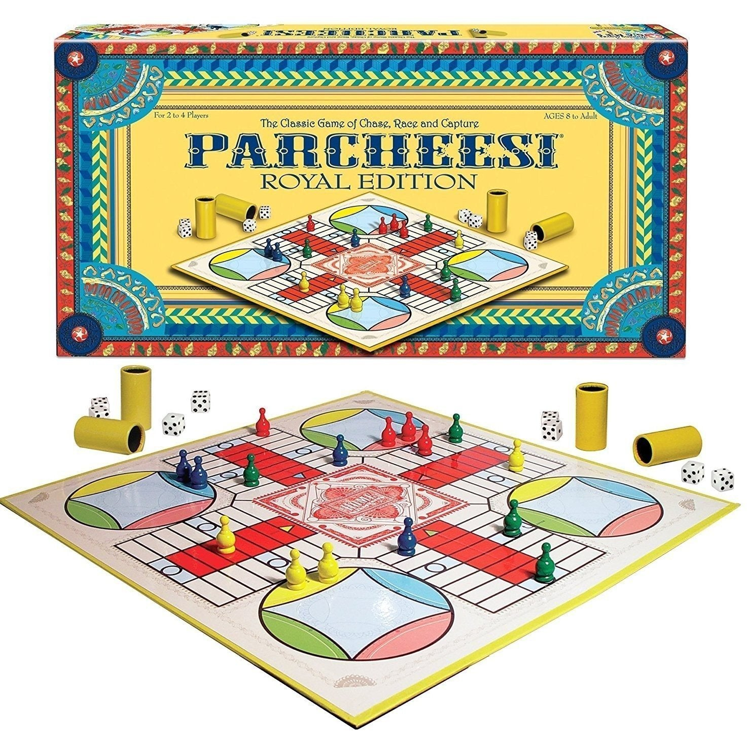 Parcheesi Game-Yarrawonga Fun and Games