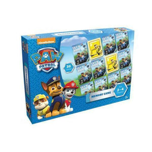 Paw Patrol - Memory Game-Yarrawonga Fun and Games