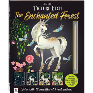 Picture Etch - The Enchanted Forest-Yarrawonga Fun and Games