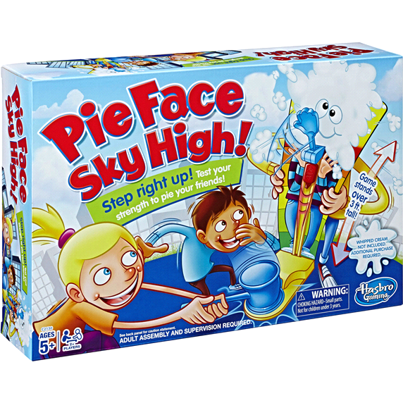 Pie Face Sky High Game-Yarrawonga Fun and Games
