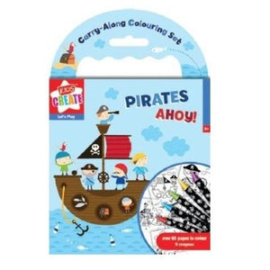 Pirates Ahoy Colouring Set-Yarrawonga Fun and Games