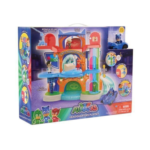 PJ Masks Deluxe Headquaters Playset-Yarrawonga Fun and Games