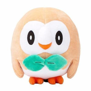 Plush Pokemon - Gen V11 Starters-Rowlet-Yarrawonga Fun and Games