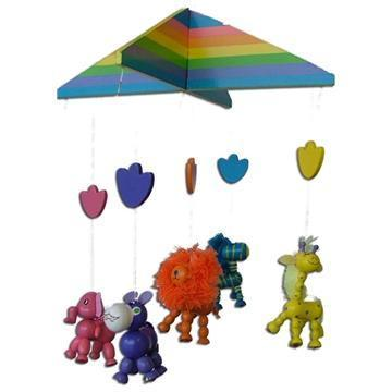 Rainbow Animal Mobile-Yarrawonga Fun and Games