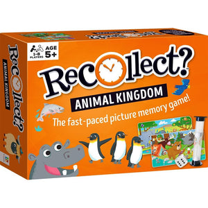 Recollect? - Animal Kingdom - Memory Game-Yarrawonga Fun and Games