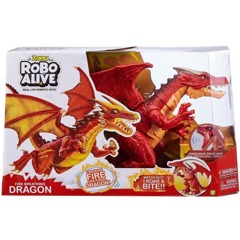 Robo Alive Dragon - Fire Red-Yarrawonga Fun and Games