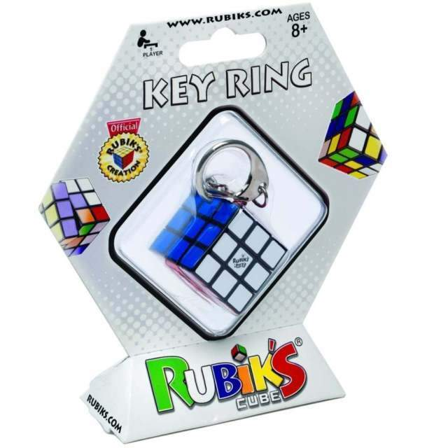 Rubik's 3*3 Cube Key Ring-Yarrawonga Fun and Games
