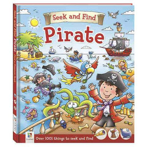 Seek and Find Book - Pirate-Yarrawonga Fun and Games.