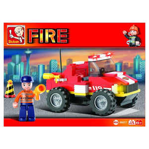 Sluban - Fire Engine - B0217-Yarrawonga Fun and Games