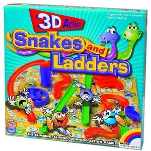 Snakes and Ladders 3D-Yarrawonga Fun and Games