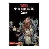 Spellbook Cards Cleric - Dungeons and Dragons-Yarrawonga Fun and Games