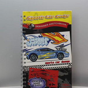 Sport Car Design Sketchbook-Yarrawonga Fun and Games