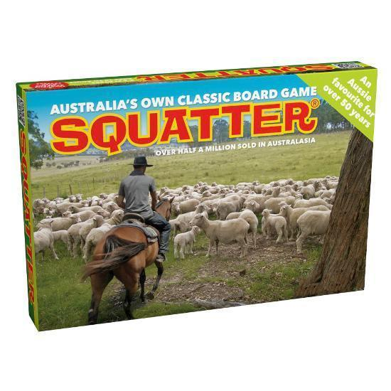 Squatter Board Game-Yarrawonga Fun and Games