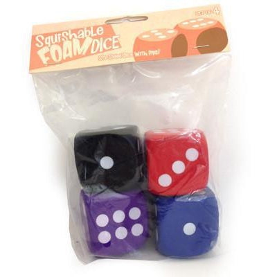 Squishable D6 Dice Set-Yarrawonga Fun and Games